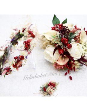 vişneli gelin çiçeği
